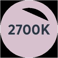 Färgtemp.: 2700K